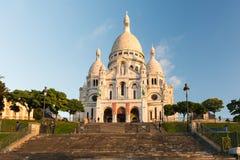 Paris - Sacre-Coeur Fotografering för Bildbyråer