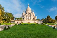 Paris - Sacre-Coeur stockfotografie