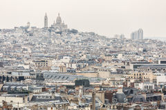 Paris Sacre Coeur Cathedral Stock Photos
