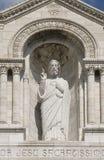Paris Sacre Coeur Montmartre Royaltyfria Foton