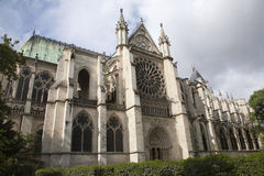 Paris - Saint Denis gothic church Royalty Free Stock Images