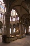 Paris - Saint Denis gothic church. Paris - interior of Saint Denis gothic church Stock Images