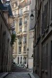Paris - Saint Etienne du Mont Street Stock Photo