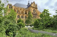 Paris - Saint Eustache Church Royalty Free Stock Images