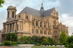 Paris - Saint Eustache Church Royalty Free Stock Photo