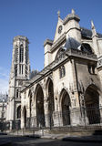Paris - Saint Germain-l'Auxerrois gothic church Stock Photos