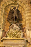 Paris - Saint Michael fountain Royalty Free Stock Images