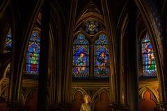 Paris - Sainte Chapelle Stock Photography