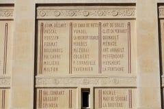 Paris - Sainte-Geneviève Library. Royalty Free Stock Image