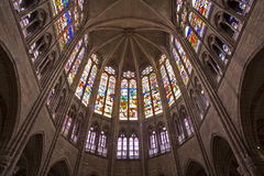 Paris - sanctuary of Saint Denis cathedral Stock Image