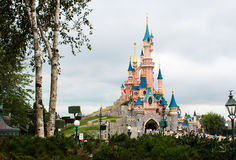 Paris-Schneewittchen-Schloss. Lizenzfreies Stockfoto