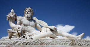 Paris - Sculpture Le Timbre - Tuileries garden Stock Photos