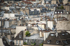 Paris seen from above Royalty Free Stock Photo