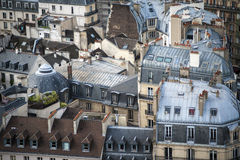 Paris seen from above Stock Photo