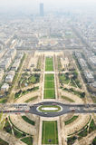 Paris seen from Eiffel Tower Royalty Free Stock Image