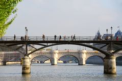 Paris Seine Royalty Free Stock Images