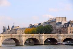 Paris Seine Royalty Free Stock Photos