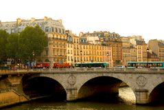 Paris Seine Lizenzfreie Stockfotos