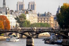 Paris Seine stock photo