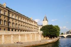 Paris - Seine Lizenzfreie Stockbilder