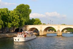 Paris - Seine Royalty Free Stock Images