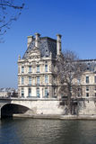 Paris. Seine Embankment Stock Photo
