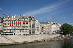 Paris, Seine embankment Stock Photo