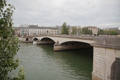 Paris Seine Stock Photo