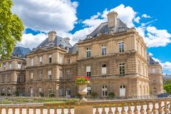 Paris, the Senat stock photography