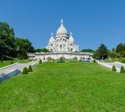 Paris - SEPTEMBER 12, 2012: Basilique du Sacre Arkivbilder