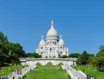 Paris - SEPTEMBER 12, 2012: Basilique du Sacre Royaltyfri Foto