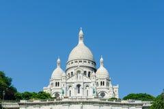 Paris - SEPTEMBER 12, 2012: Basilique du Sacre Arkivfoto