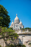 Paris - SEPTEMBER 12, 2012: Basilique du Sacre Royaltyfri Bild