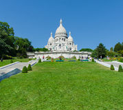 Paris - SEPTEMBER 12, 2012: Basilique du Sacre Stock Images