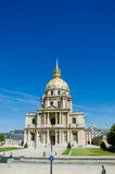 Paris - SEPTEMBER 15, 2012: Les Invalides hus på September 15 Royaltyfri Bild