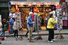 Paris shopping Stock Images
