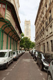 Paris Side Street Stock Photo