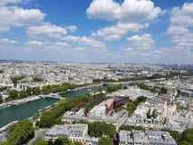Paris Sightseeing Stock Photography