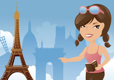 Paris Sightseeing Stock Image