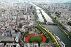 paris sikt Fotografering för Bildbyråer
