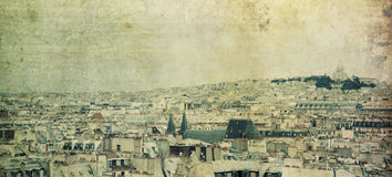Paris skyline Royalty Free Stock Photos