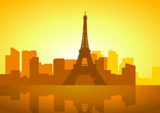 Paris Skyline Stock Photography