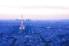 Paris skyline Royalty Free Stock Image