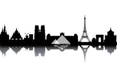Free Paris Skyline Royalty Free Stock Images - 20927759