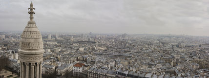 Paris skyline Royalty Free Stock Photo