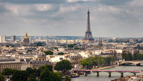 Paris skyline Eifel tower France Royalty Free Stock Photo