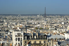 Paris skyline Stock Images