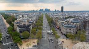 Paris Skyline Royalty Free Stock Photography