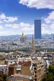 Paris skyline Invalides golden dome France Royalty Free Stock Photos