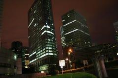Paris-Skyline nachts Lizenzfreies Stockfoto